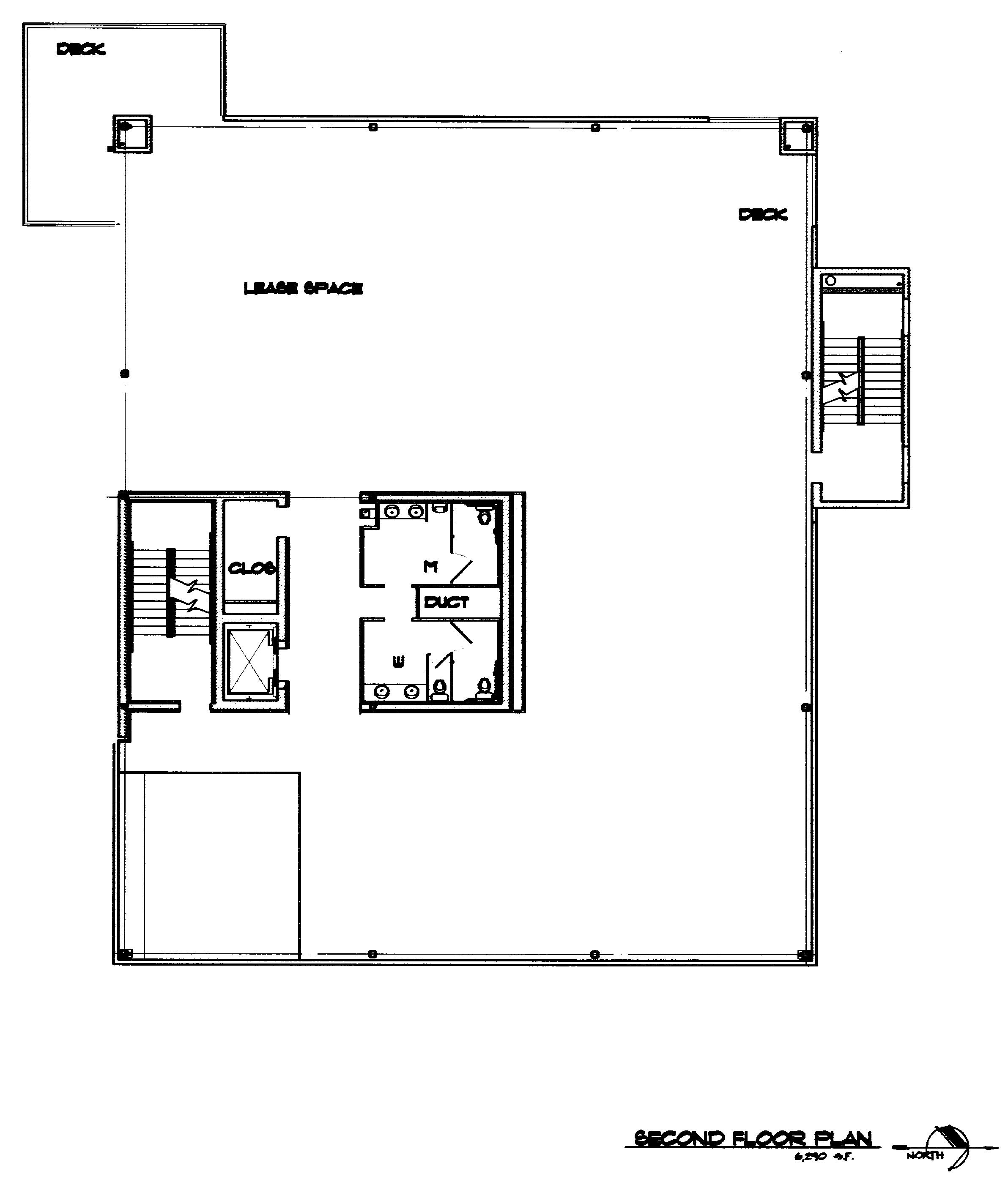 Kurt austin properties office building for Small office floor plan